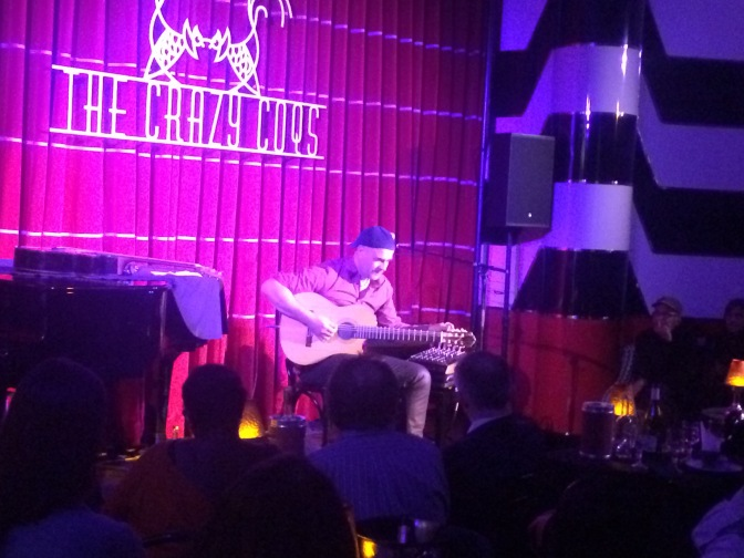 Antonio and his glorious weeping guitar (Live Music Review)