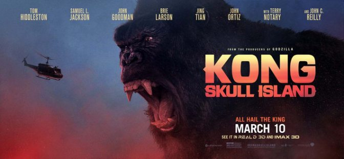 Kong: Skull Island and Elle (Film Review)