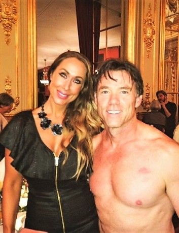Linda with Terry Notary